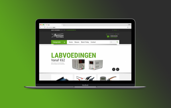 Fakkert electronica website